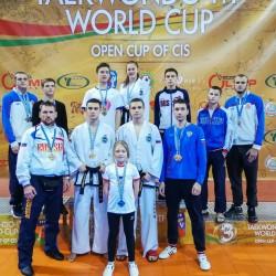 Красноярцы завоевали пять медалей