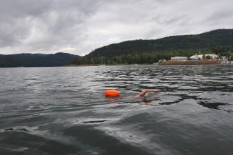 Побит рекорд России и Европы по заплыву в холодной воде!